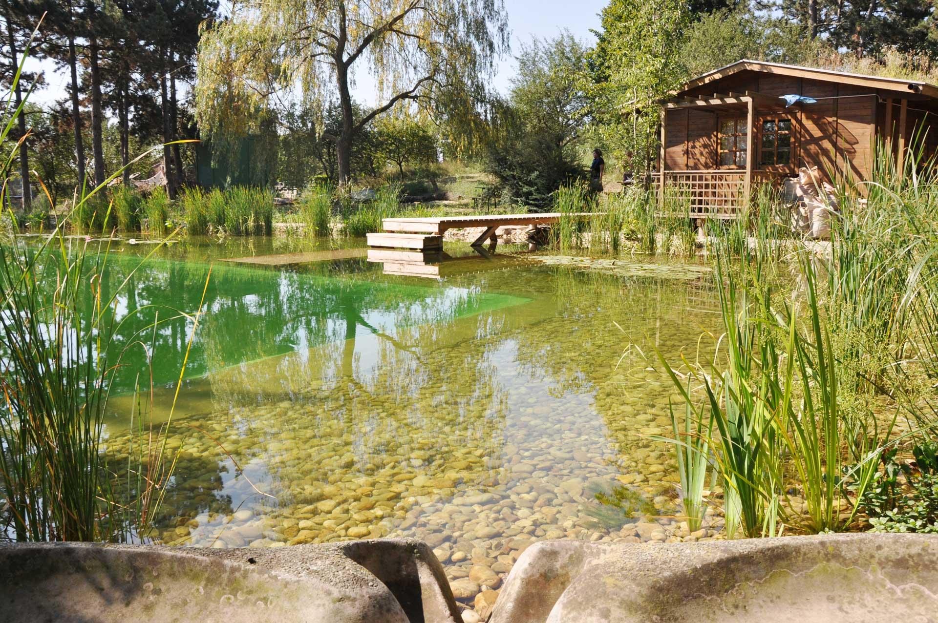 Badeteich Ökosiedlung Gärtnerhof, Gänserndorf