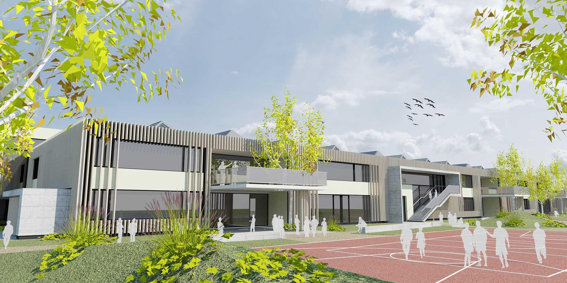 Wettbewerb Volksschule Gänserndorf Süd