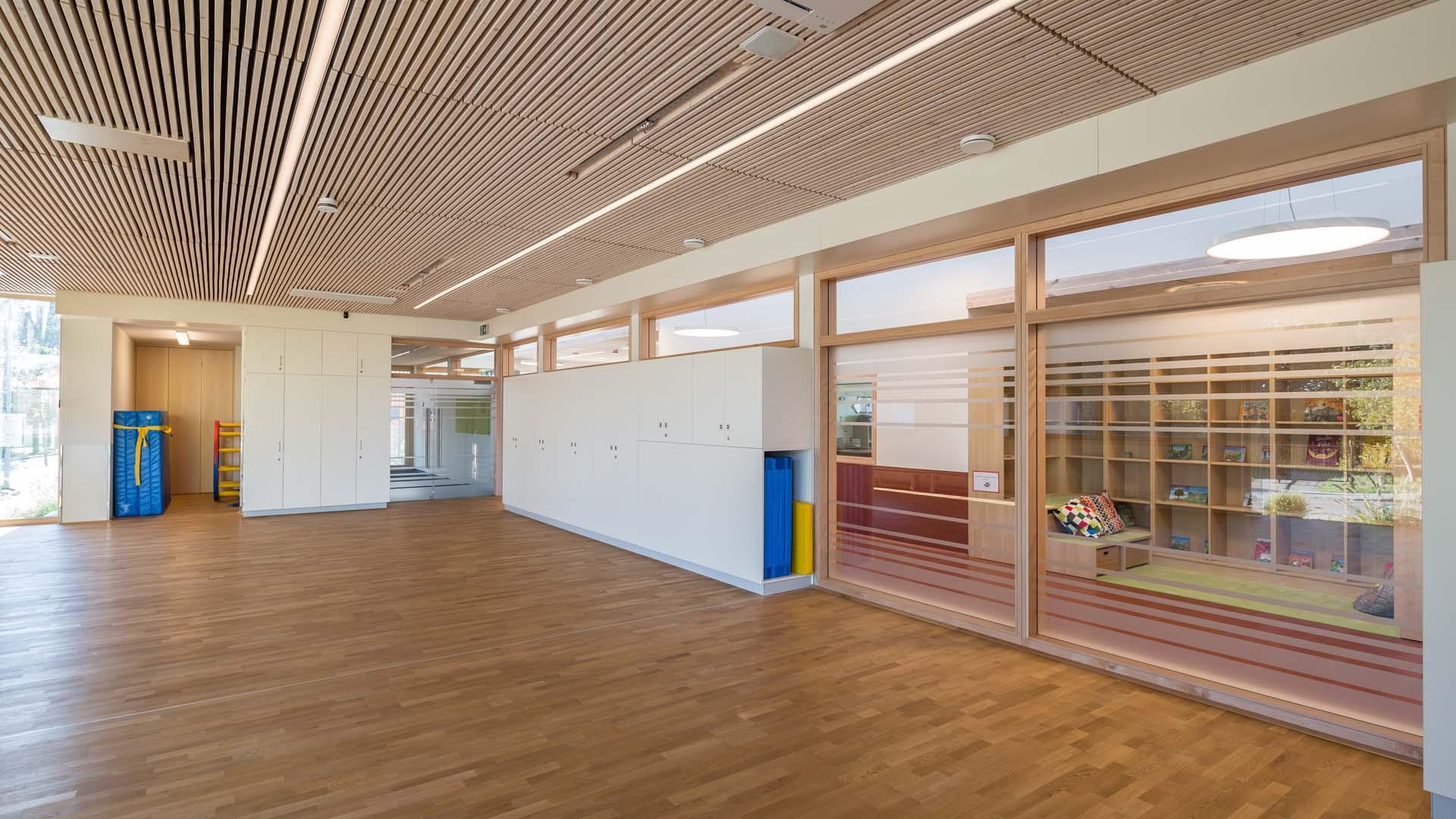 passivhaus kindergarten gänserndorf architektur