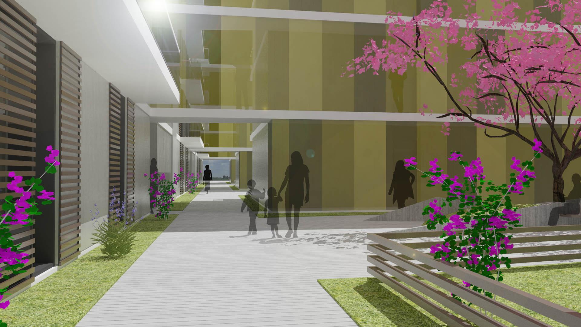 wohnhausanlage wettbewerb gänserndorf architektur