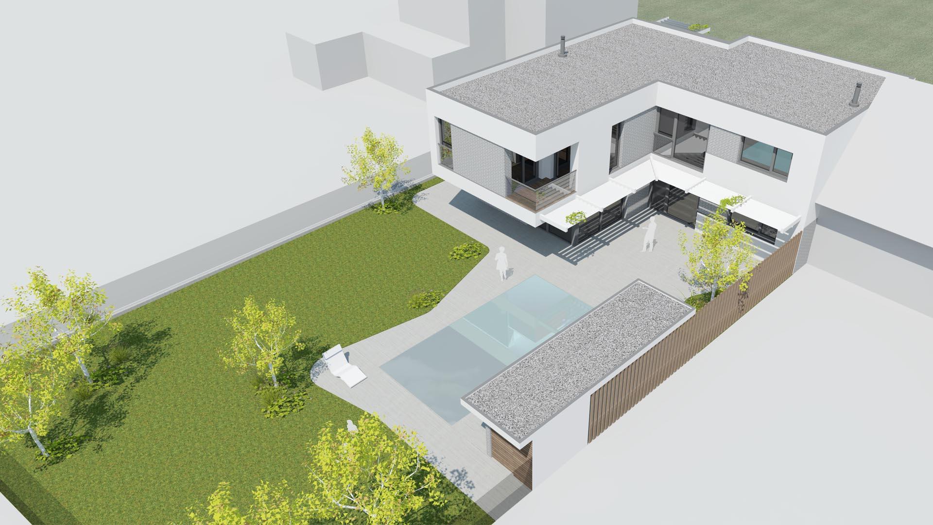 einfamilienhaus gänserndorf architektur landschaftsplanung