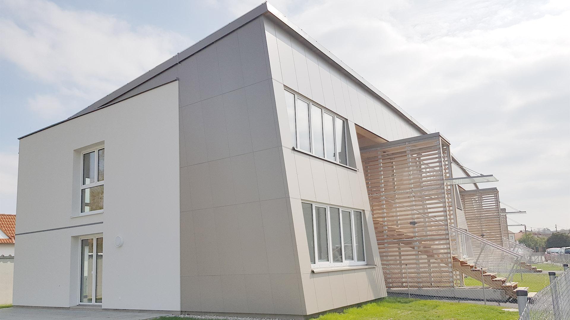 holzbau wohnhausanlage hohenruppersdorf architektur