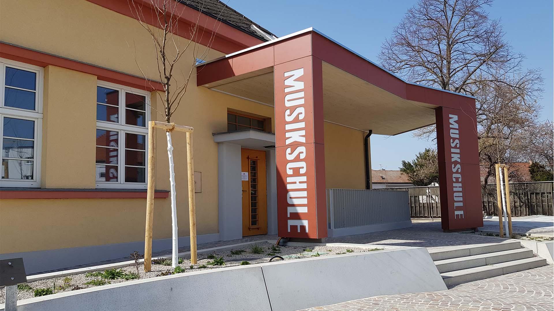 musikschule sanierung deutsch wagram
