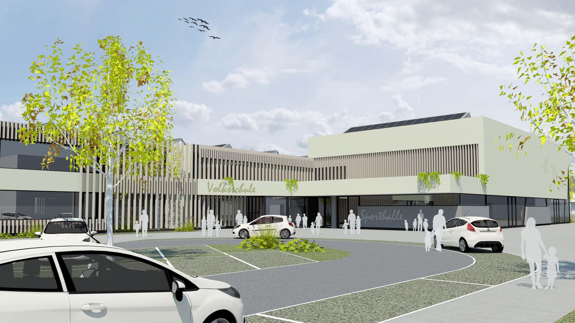 volksschule wettbewerb gänserndorf architektur
